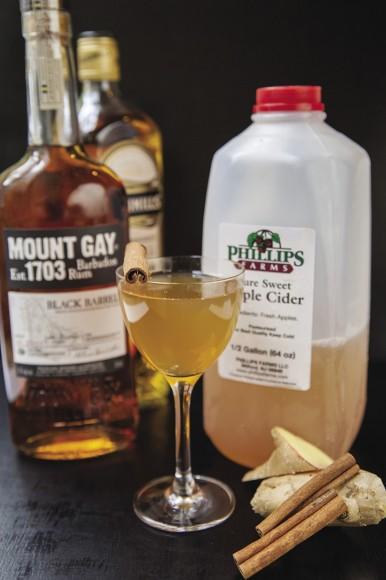 Privateer - hot mulled cider